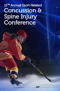 15th Annual Sports-Related Concussion and Spine Injury Conference Banner