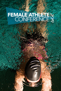 Female Athlete Conference Banner