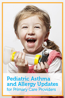 Pediatric Asthma and Allergy Updates for Primary Care Providers Banner