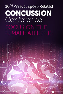 16th Annual Sport-Related Concussion Conference: Focus on the Female Athlete Banner
