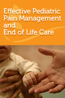 Effective Pediatric Pain Management and End of Life Care 2019 Banner