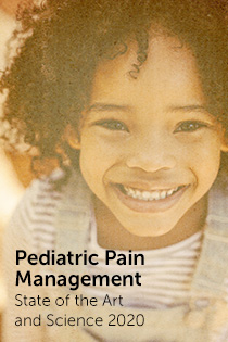 CANCELLED: Pediatric Pain Management: State of the Art and Science 2020 Banner