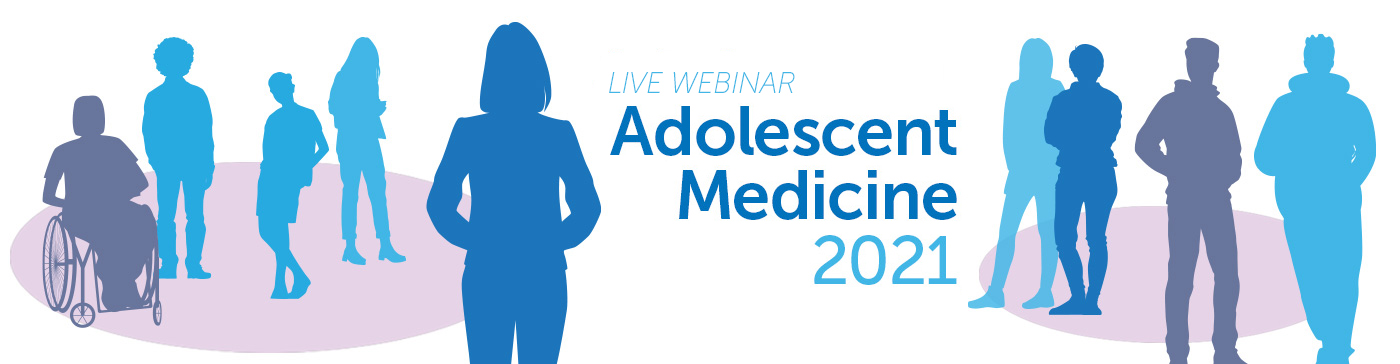 Adolescent Medicine 2021 Banner