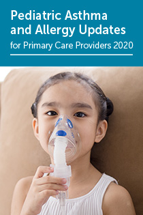 Pediatric Asthma & Allergy Updates for Primary Care Providers 2020 Banner