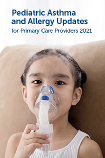 Pediatric Asthma & Allergy Updates for Primary Care Providers 2021 Banner