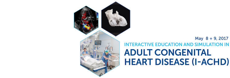 Interactive Education & Simulation in Adult Congenital Heart Disease Banner