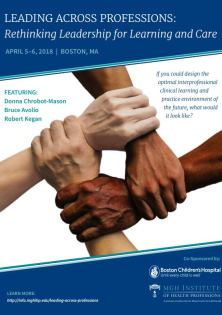 Leading Across Professions: Rethinking Leadership for Interprofessional Learning and Care Banner